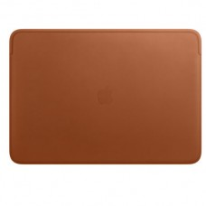 Leather Sleeve for 16-inch MacBook Pro - Saddle Brown