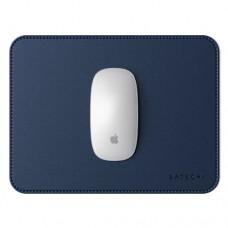 SATECHI ECO-LEATHER MOUSE PAD, Blue