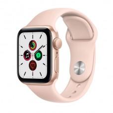 Watch Series SE 40 мм Корпус из алюминия золотого цвета, спортивный ремешок «Розовый песок»