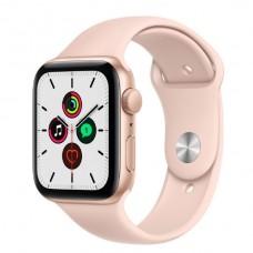 Watch Series SE 44 мм Корпус из алюминия золотого цвета, спортивный ремешок «Розовый песок»