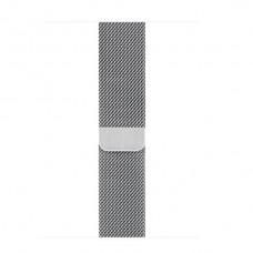 Миланский сетчатый браслет серебристого цвета (для корпуса 40 мм)