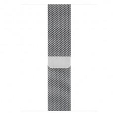 Миланский сетчатый браслет серебристого цвета (для корпуса 44 мм)