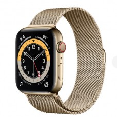 Watch Series 6 44 mm Gold Stainless Steel Case with Milanese Loop