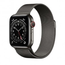 Watch Series 6 40 mm Graphite Stainless Steel Case with Milanese Loop