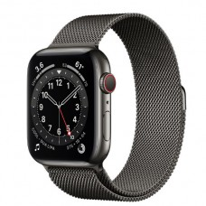 Watch Series 6 44 mm Graphite Stainless Steel Case with Milanese Loop
